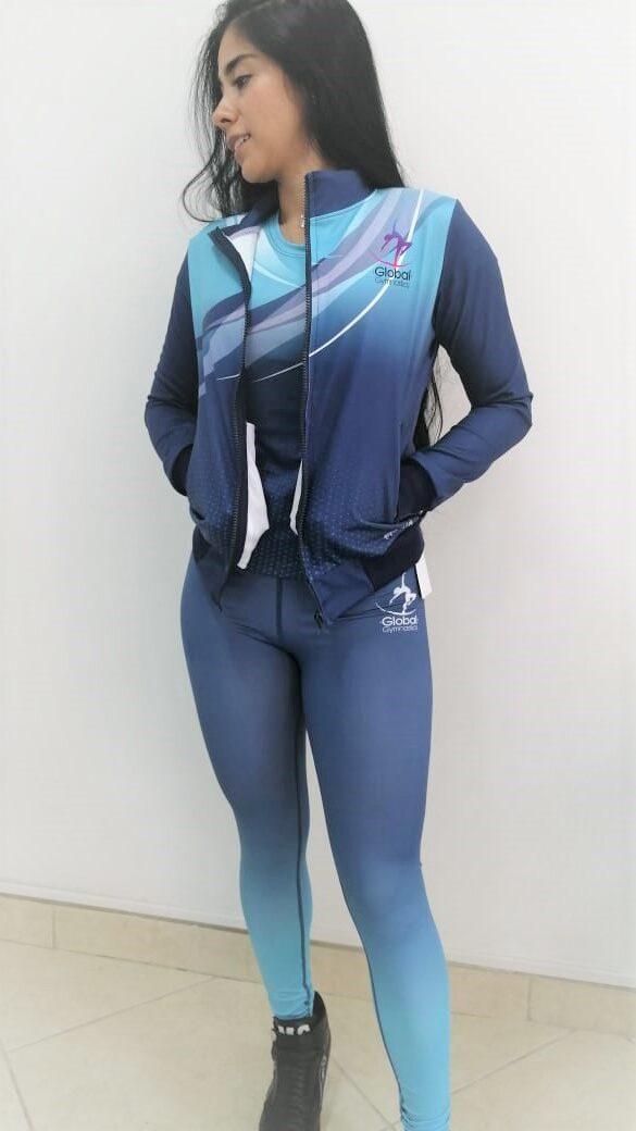 conjunto deportivo personalizado para mujer