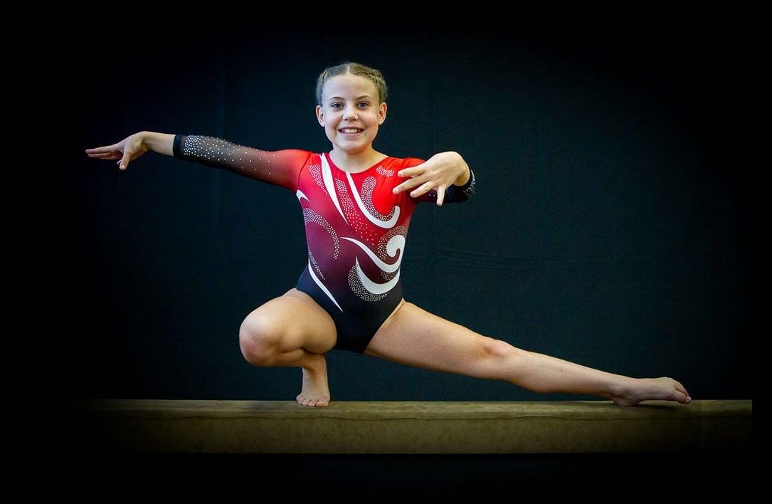 trusas deportivas de gimnasia para niñas