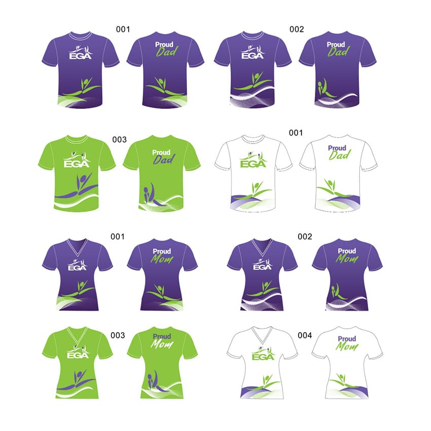 Camisetas deportivas personalizadas para niñas