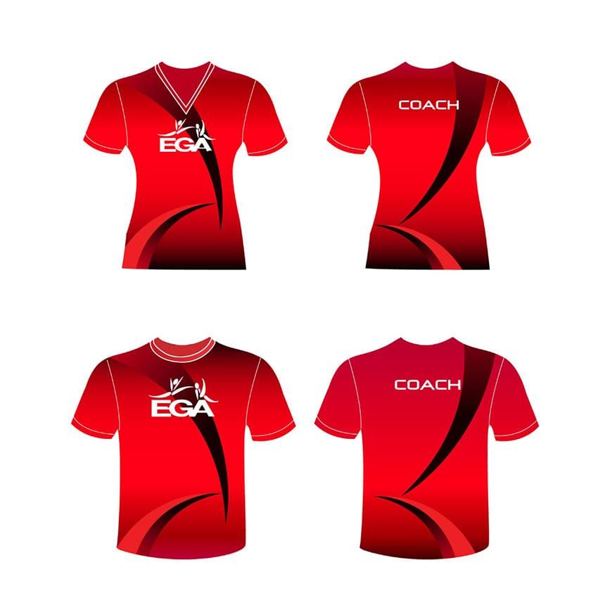 Camisetas deportivas personalizadas para niños